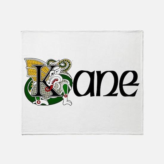 Kane Celtic Dragon Throw Blanket
