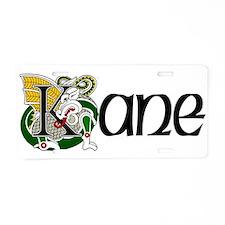 Kane Celtic Dragon Aluminum License Plate