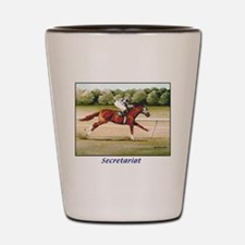 Secretariat Shot Glass