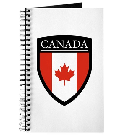 Canada Flag Patch Journal