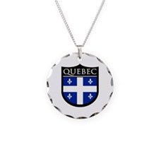 Quebec Flag Patch Necklace