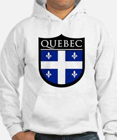 Quebec Flag Patch Hoodie