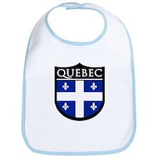 Quebec Flag Patch Bib
