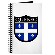 Quebec Flag Patch Journal