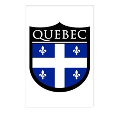 Quebec Flag Patch Postcards (Package of 8)