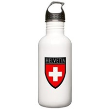 Swiss (HELVETIA) Patch Water Bottle