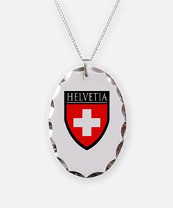 Swiss (HELVETIA) Patch Necklace