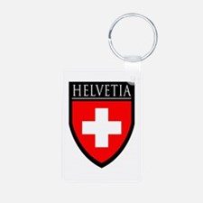 Swiss (HELVETIA) Patch Keychains