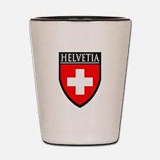 Swiss (HELVETIA) Patch Shot Glass