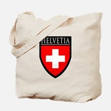 Swiss (HELVETIA) Patch Tote Bag