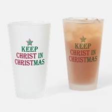 Keep Christ star Pint Glass