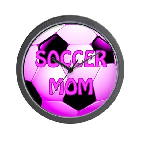 Soccer Mom #1 Wall Clock