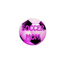 Soccer Mom #1 Mini Button