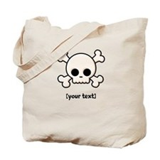 [Your text] Cute Skull Tote Bag
