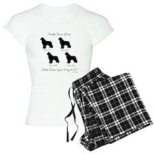4 Newfoundlands Pajamas