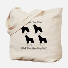 4 Newfoundlands Tote Bag