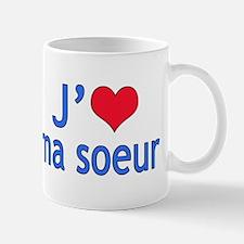 I Love Sister (French) Mug