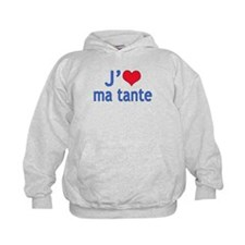 I Love Aunt (French) Hoodie
