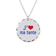 I Love Aunt (French) Necklace