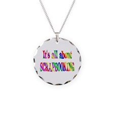About Scrapbooking Necklace