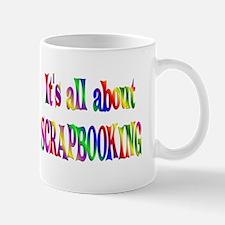 About Scrapbooking Mug