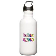 About Scrapbooking Water Bottle
