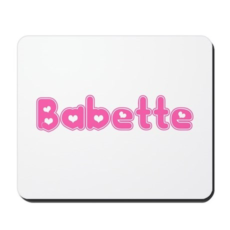 """""""Babette"""" Mousepad"""