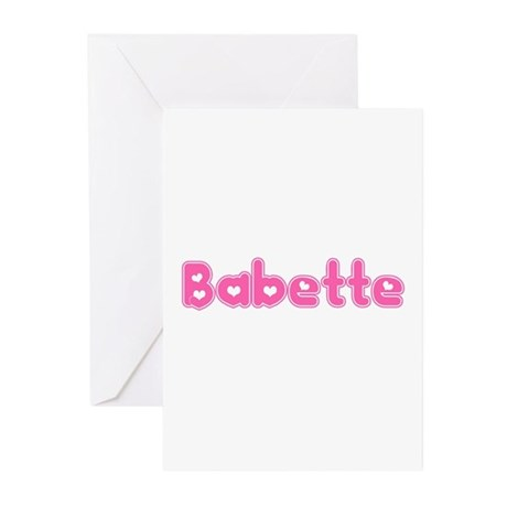 """""""Babette"""" Greeting Cards (Pk of 10)"""