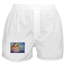 African Lady, Colorful, art, Boxer Shorts