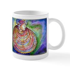 African Lady, Colorful, art, Mug