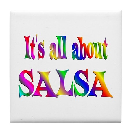 About Salsa Tile Coaster