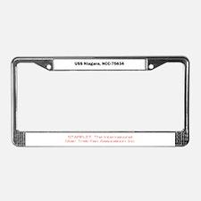 Niagara License Plate Frame