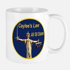 Caylee's Law All 50 States Mug