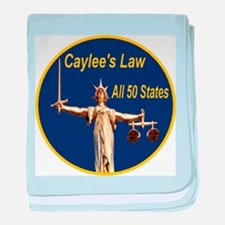 Caylee's Law All 50 States baby blanket