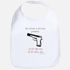 The ultimate in feminine protection Bib