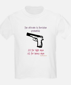 The ultimate in feminine protection Kids T-Shirt