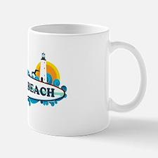 Dewey Beach DE -Surf Design Mug