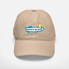 Dewey Beach DE -Surf Design Baseball Baseball Cap