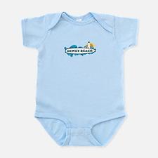 Dewey Beach DE -Surf Design Infant Bodysuit