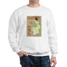 Harper's March 1894 Poster Sweatshirt