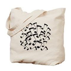 MUSICAL NOTES III Tote Bag