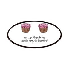Cupcakes Patches