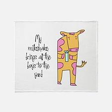 Milkshake Throw Blanket