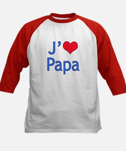 I Love Dad (French) Tee