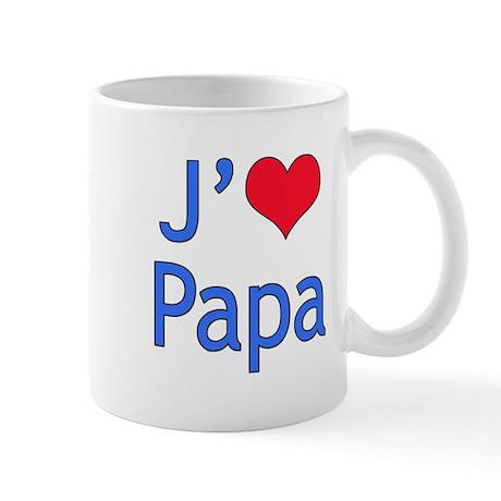 I Love Dad (French) Mug