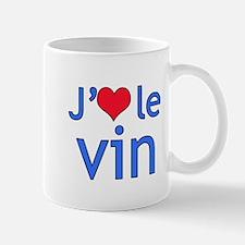 I Love Wine (French) Mug