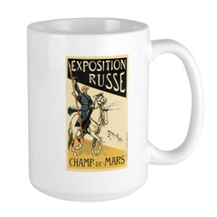 Exposition Russe 1895 Poster Mug