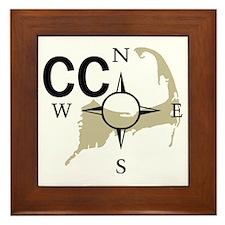Cape Cod - Compass Framed Tile