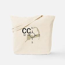 Cape Cod - Compass Tote Bag