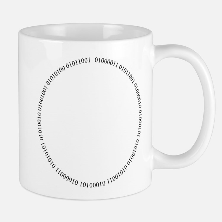 Cyber Security Ring Black Mugs